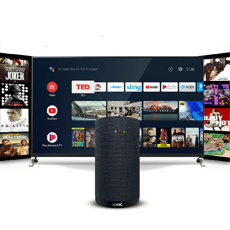 Meet next generation Android TV Smart Speaker with digital TV receiver